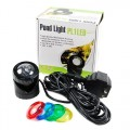Jebao PL1LED-4 Submersible Pond LED Light with Colored Lenses