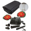 Koolscapes 400 Gallon Pond Kit with Lighting