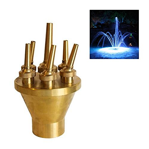 Navadeal 2 Quot Dn50 Brass Lotus Fountain Nozzle Spray